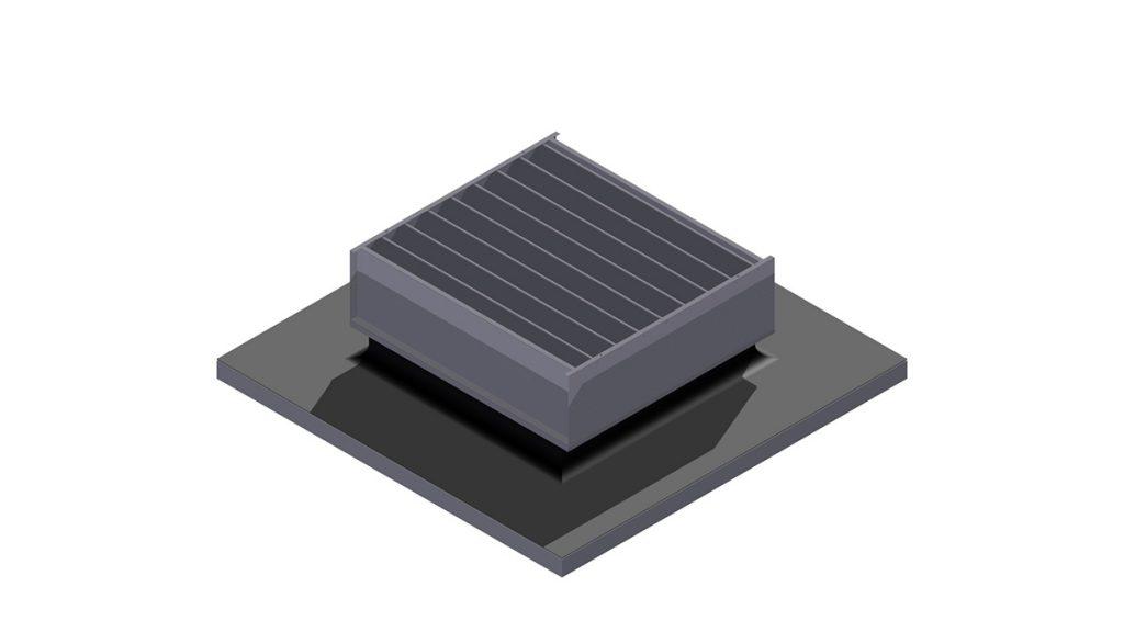 RV3 Flachluefter Lichtkupelersatz
